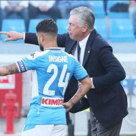 Ancelotti incontra Napoli