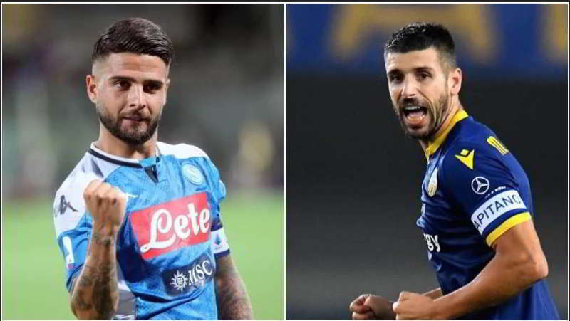 Napoli- Verona formazioni ufficiali. Ancelotti lancia Younes
