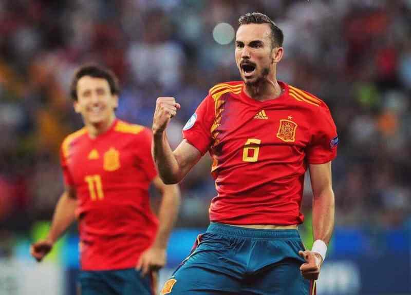 Fabian Ruiz gol 1-0 Spagna-Romania