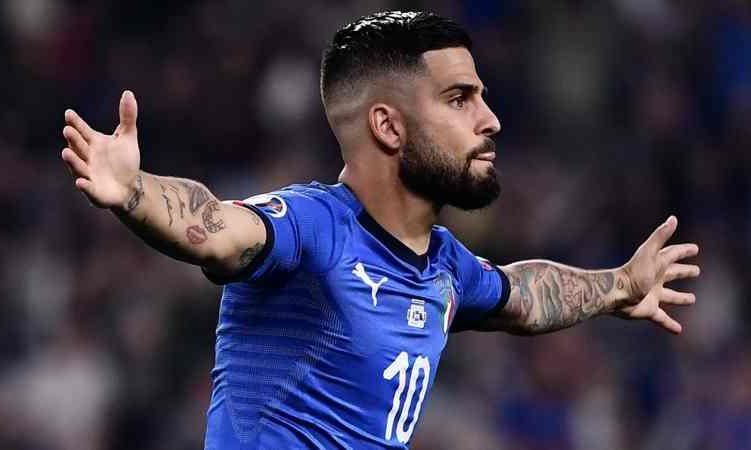 Gol insigne Italia Bosnia