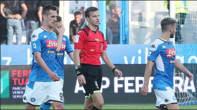 classifica senza errori arbitrali della 12 giornata di Serie A