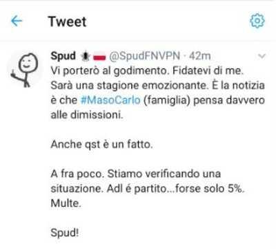 Dimissioni Ancelotti Spud