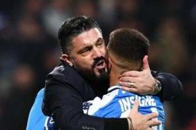 abbraccio Gattuso Insigne