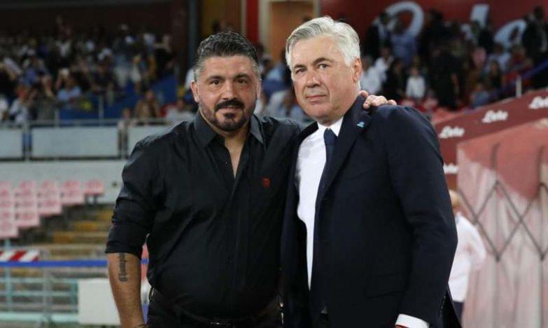 Napoli contratto Gattuso. Dimissioni Ancelotti