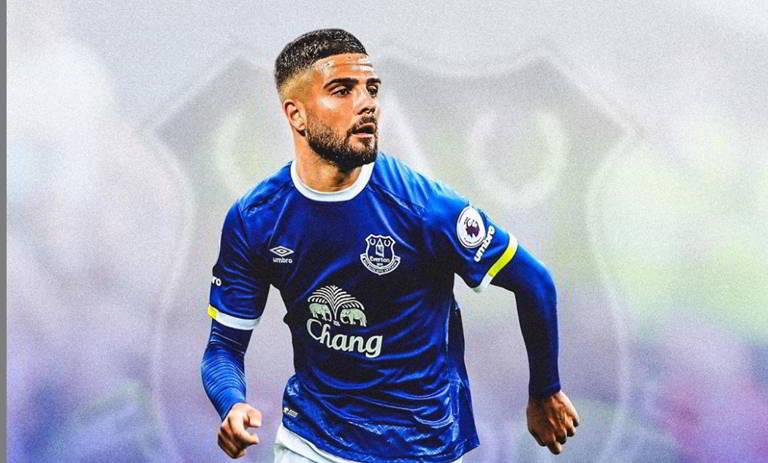 insigne all'Everton ancelotti