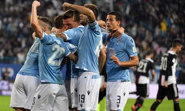 Supercoppa Italiana Lazio vince