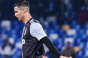 Cristiano Ronaldo furioso negli spogliatoi