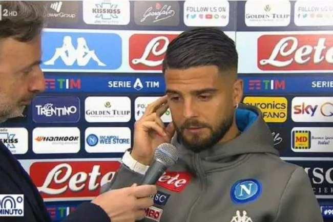 Rai contro Napoli per intervista Insigne
