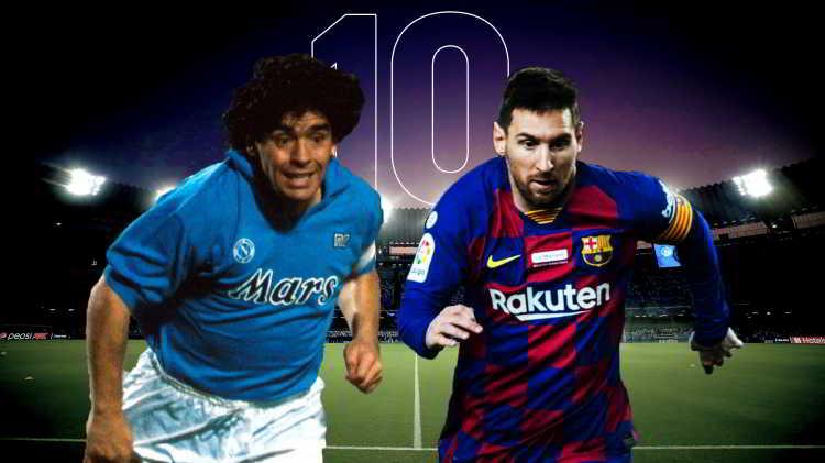 Messi non sarà mai Maradona. Leo e Diego tra mito e leggenda