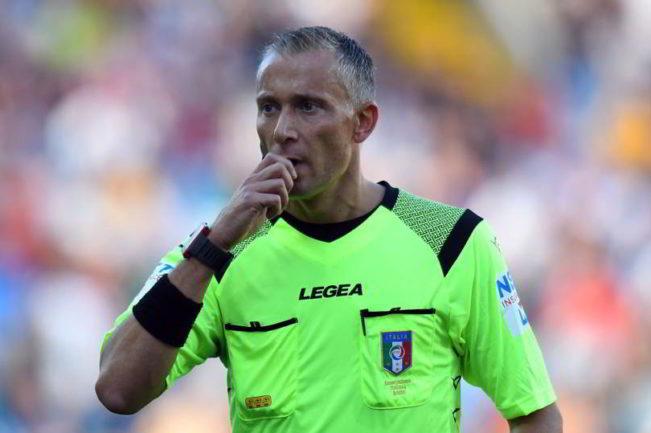 L'arbitro Valeri ha diretto 32 volte la Juventus. Spunta un dato clamoroso