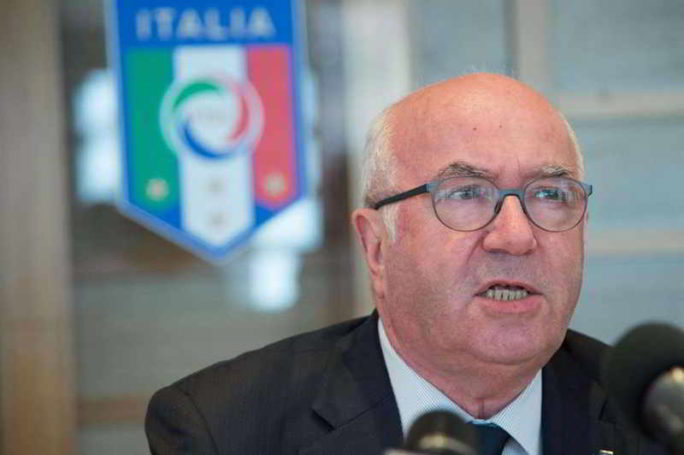 tavecchio commenta Var e Nicchi