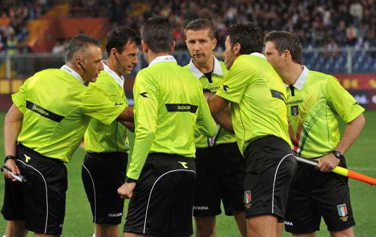 Classifica senza errori arbitrali, 25 giornata serie A: Napoli terzo