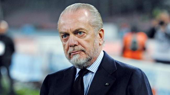 De Laurentiis al San Paolo per Napoli-Barcellona