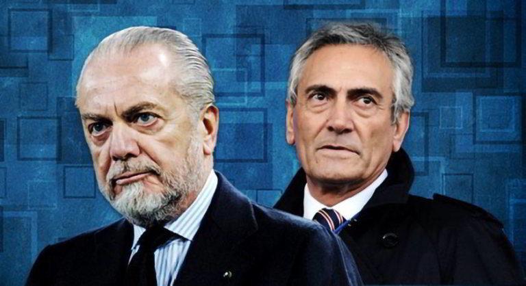 Napoli, De Laurentiis chiama Gravina per protestare contro Giua