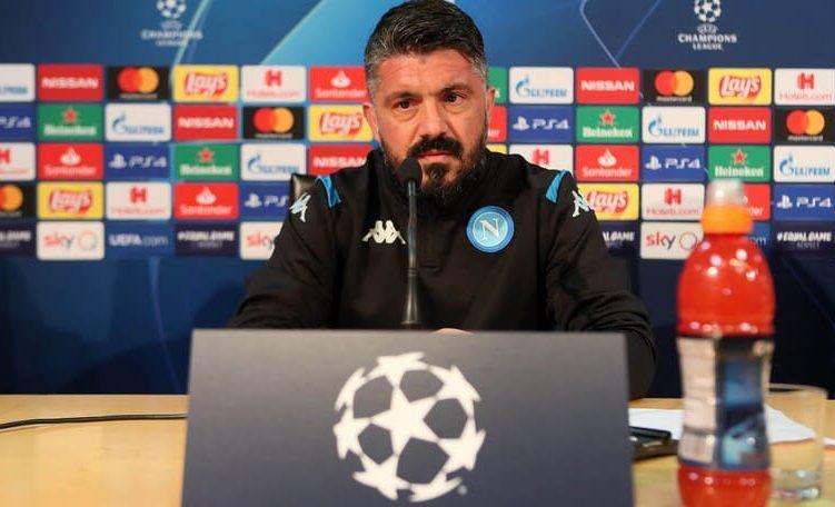 """Napoli-Barcellona, Gattuso in conferenza: """"Non abbiamo paura"""""""