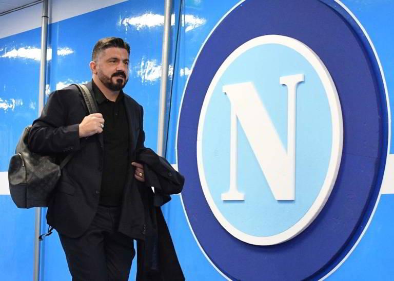NAPOLI-BARCELLONA, Gattuso ha scelto la formazione. Tre in tribuna