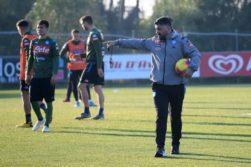 """Napoli, scontro Allan-Gattuso: """"Stai camminando, ora resti a casa"""""""