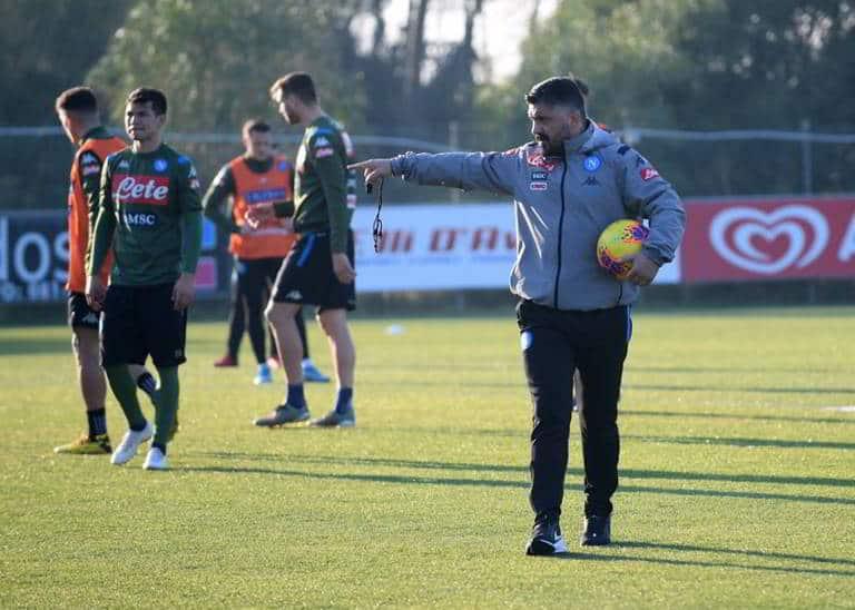 Napoli, ora Gattuso vuole impegno: Allan rischia di essere messo fuori rosa?