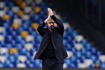 Napoli-Torino. Centrocampo inedito per Gattuso. Sorpresa in attacco