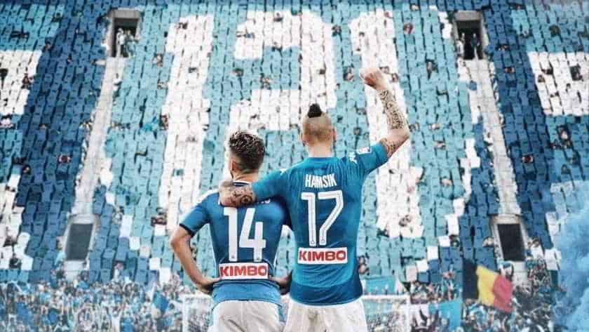 Mertens raggiunge Hamsik a 121 goal: 'Ciao Marek!'
