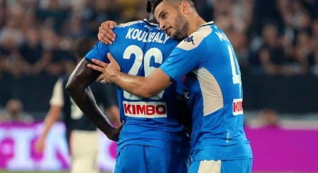 koulibaly in panchina con l'inter