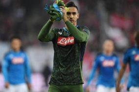 Napoli, problemi per Meret. Contro l'Inter tocca ancora ad Ospina