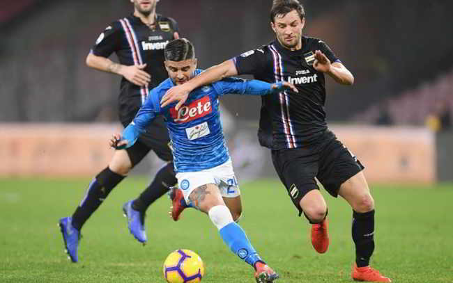 sampdoria-napoli dove vederla in tv