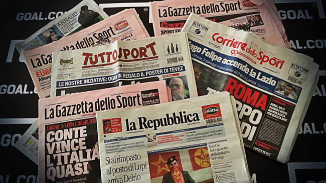 Prime Pagine Corriere Dello Sport Gazzetta Dello Sport Tuttosport