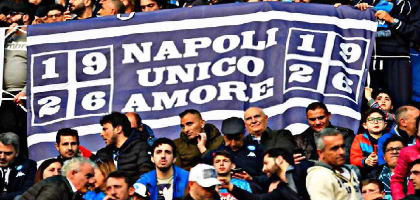 Coronavirus, i tifosi del Napoli rispondo alle offese del Nord
