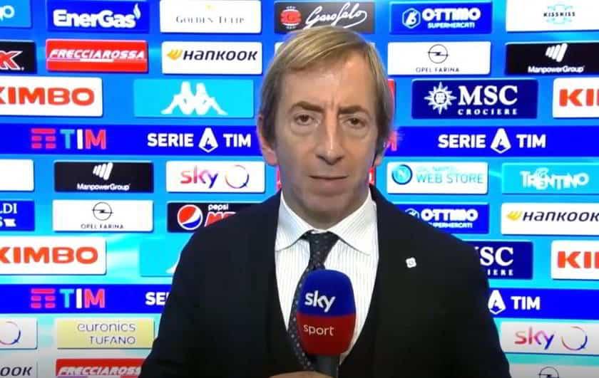 """Ugolini: """"Buona notizia per il Napoli. Allarme Coronavirus in serie A"""""""