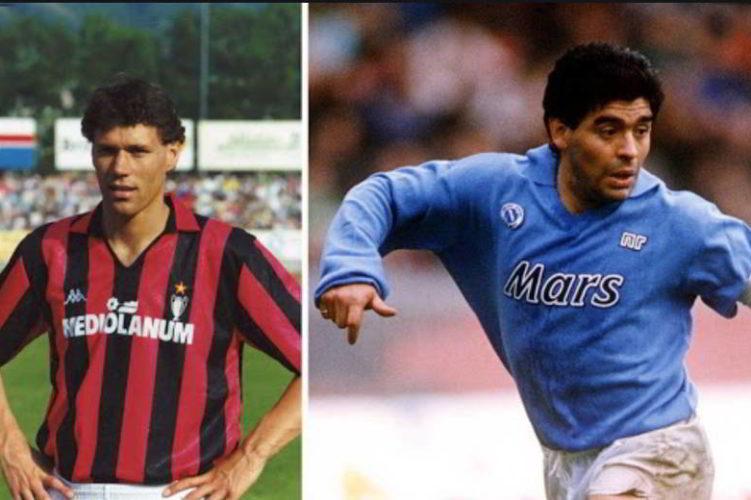 Napoli risponde a Van Basten sullo scudetto del 1990