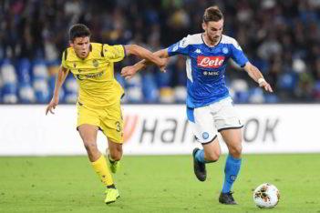Verona-Napoli a porte chiuse. In Serie A sette gare senza tifosi