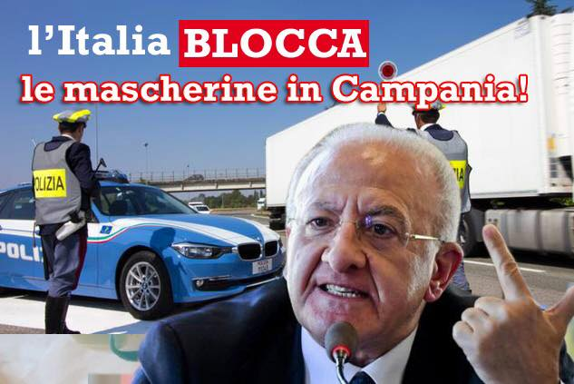 mascherine Campania