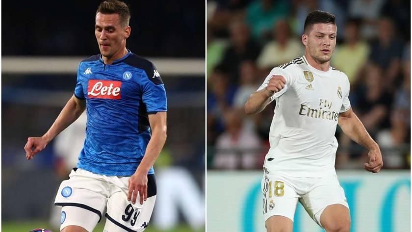 Milik verso il Milan, Jovic al Napoli. I rossoneri offrono un giocatore