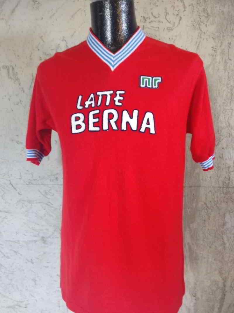 maglia rossa collezione napoli 83/84 napoli claudio pellegrini