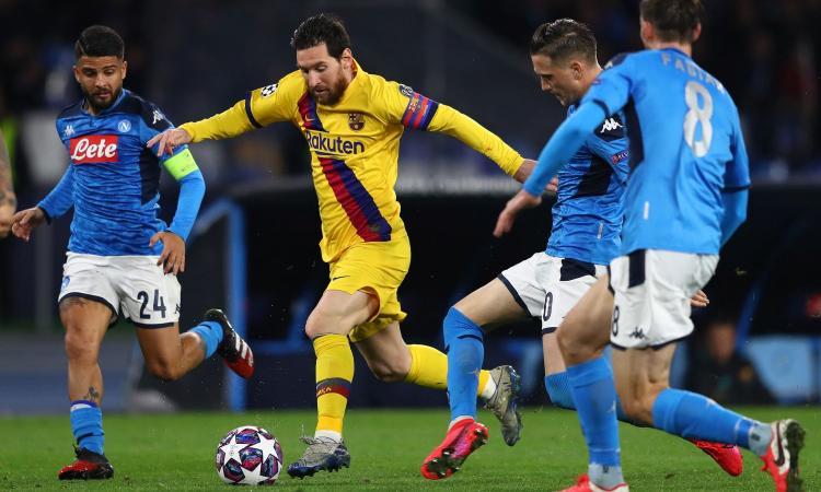 Barcellona-Napoli in campo neutro. La UEFA ci pensa