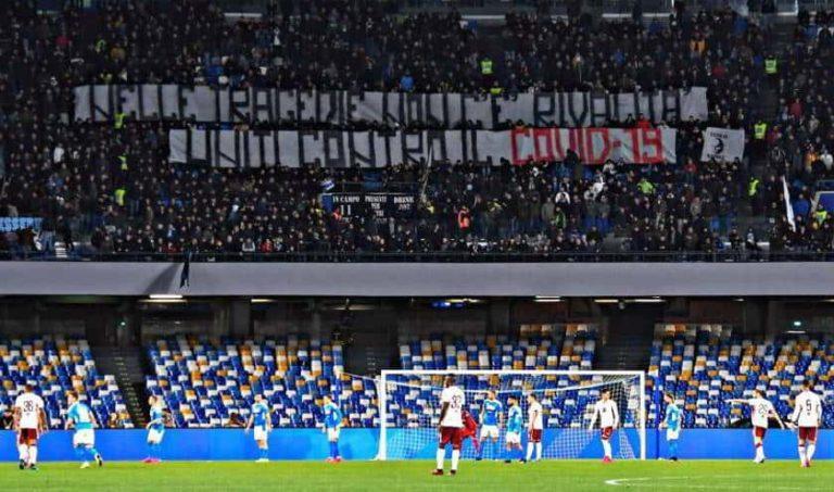 I tifosi napoletani devolvono al Corugno i rimborsi di Barcellona-Napoli