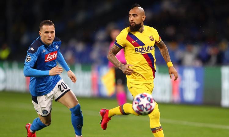 Barcellona-Napoli a porte aperte