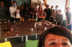 foto festa sindaca lodi sara casanova