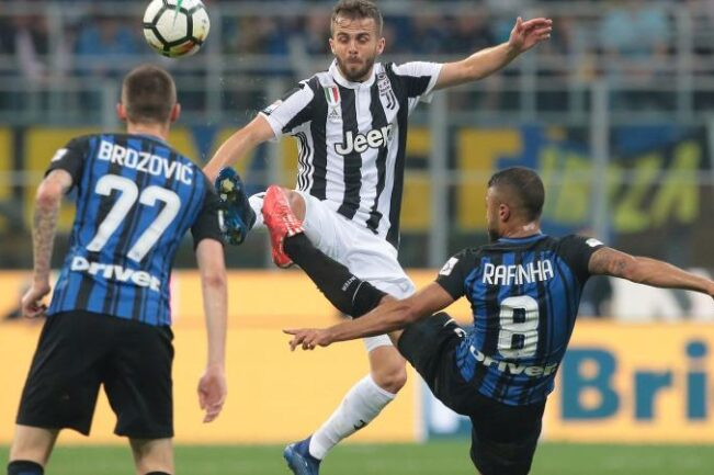 Juve-Inter Orsato Pjanic
