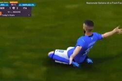 italia vince europeo euefa gol insigne
