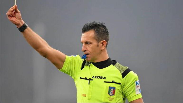 Daniele Doveri arbitro