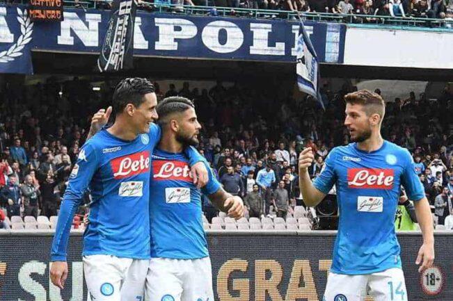 Napoli-Spal, Gattuso con il tridente dei record: 288 gol in sette anni