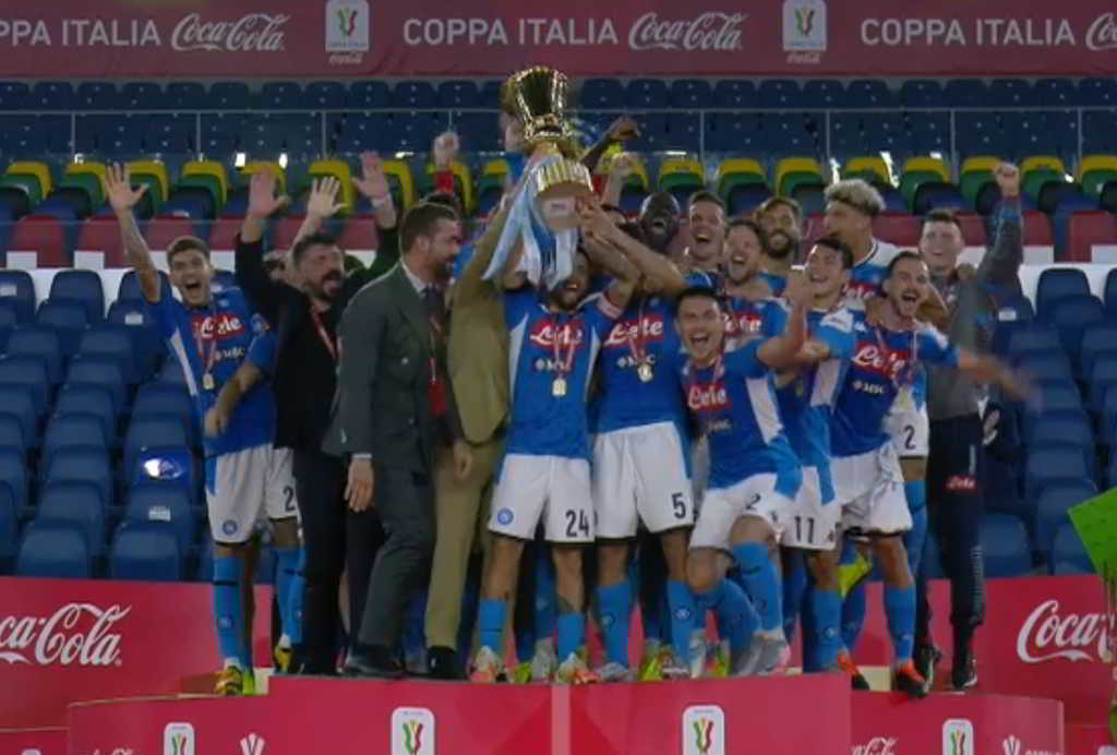 napoli vince coppa italia