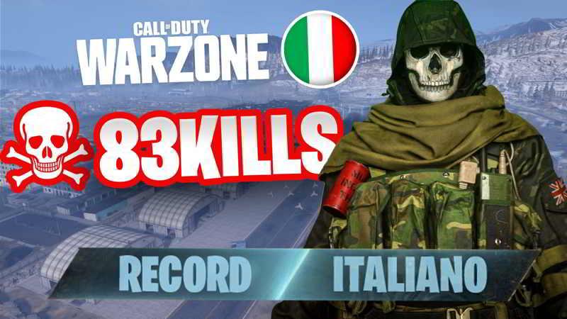 record italiano kill warzone savyultras
