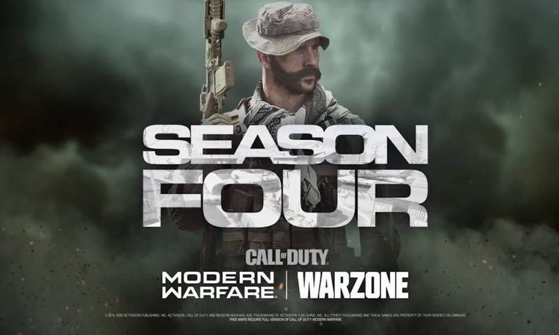call of duty warzone rinvio quarta stagione