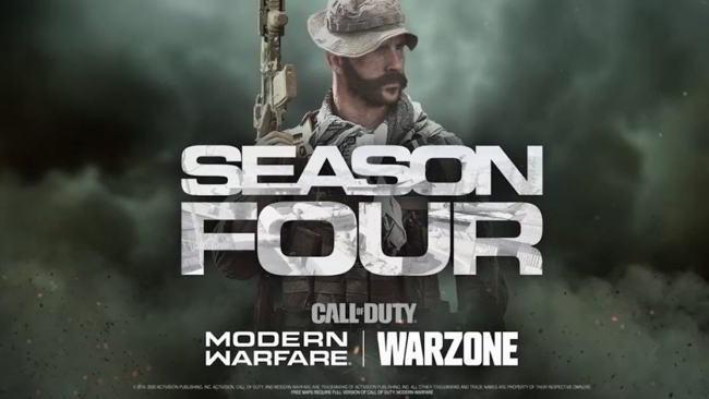 ufficiale aggiornamento quarta stagione warzone