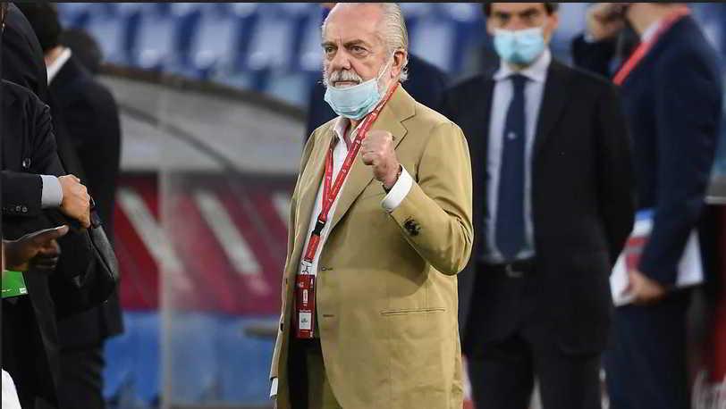 Barcellona-Napoli, De Laurentiis preoccupato per i nuovi focolai in Catalogna. Il patron chiama il consolato italiano.