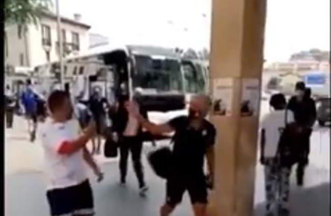 video gasperini risponde tifoso napoli