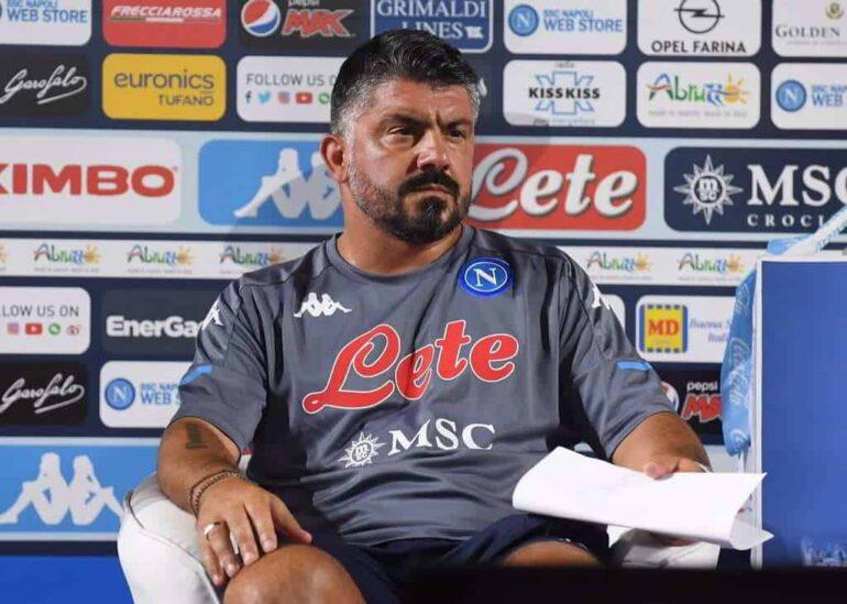 Gattuso triangolare Napoli